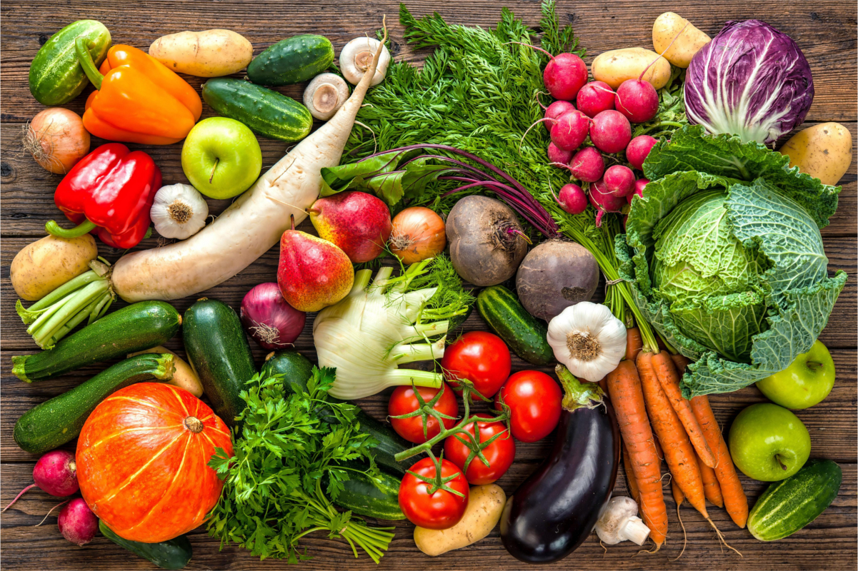 Nutrition, Varied diet fruits and vegetables